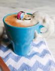 拿铁咖啡3D创意图