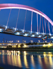 高架桥夜景