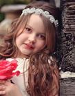 外国漂亮小女孩图片