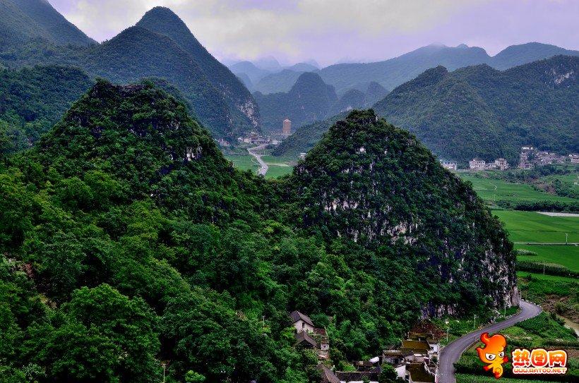 贵州万峰林风景区图片