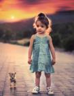 外国小女孩图片可爱萌