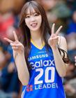 韩国啦啦队的照片 韩国最美啦啦队美女安智玄
