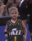 JP GIBSON圆篮球梦NBA赛场上温馨的一幕