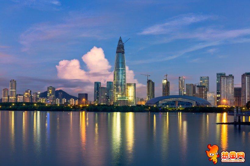 深圳湾美丽风景图片 深圳湾图片高清