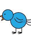 小鸟简笔画图片大全 小鸟怎么画简单又好看