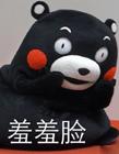 熊本熊搞笑配字图片
