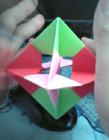 一吹就能转的折纸玩具
