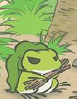 旅行青蛙表情包图片