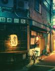 日本东京街道夜景 日本东京看夜景
