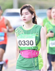 泰国曼谷马拉松美女跑者图片