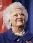老布什夫人去世 老布什夫人芭芭拉布什照片