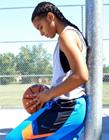 美女打篮球图片大全