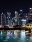 新加坡夜景高清图片