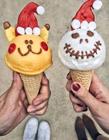 冰淇淋唯美图片