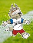 2018世界杯吉祥物扎比瓦卡图片 萌萌哒西伯利亚平原狼你喜欢吗