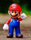 可爱的马里奥玩具模型图片 都是童年的回忆