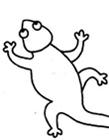 蜥蜴怎么画简笔画 蜥蜴简笔画图片大全