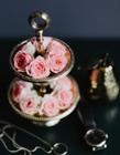 摆盘玫瑰图片大全 桌上的玫瑰美的让你可以忘掉烦恼
