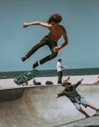滑板运动图片 滑板运动是极限运动的鼻祖