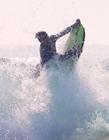 冲浪图片高清 海上冲浪图片