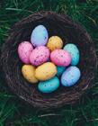 复活节彩蛋图片 简单易画的彩蛋图案