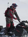 雪橇摩托车图片 这样的造型非常的拉风