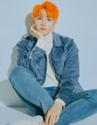 金东汉图片 橘系发色凸显独特