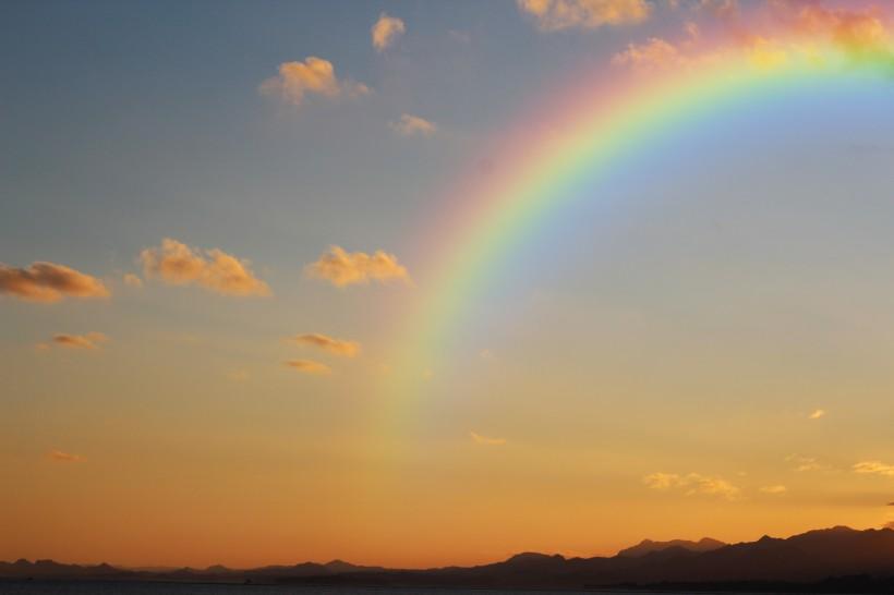 彩虹图片真实照片 彩虹的照片自然风景