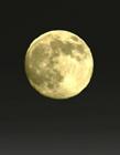 朦胧的月亮图片 夜空中唯美的月亮图片