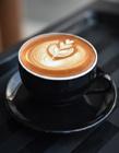 简单的咖啡拉花图片 咖啡拉花真人照片