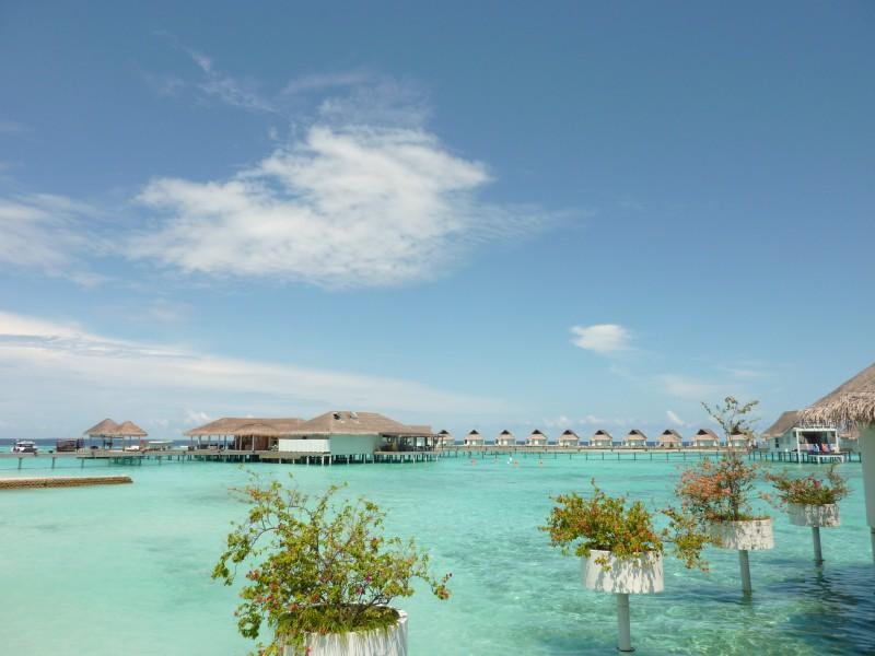 马尔代夫海边风景图片 马尔代夫海边图片大全