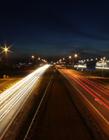 夜晚公路图片 夜晚城市公路 夜晚高速路的图片大全