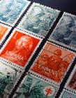 精美的邮票图片 邮票见证了国家的发展历程