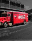 可口可乐运输车图片 可口可乐是哪个国家的