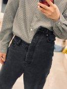 个性牛仔裤搞笑穿搭图片