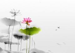 创意中国风水墨画背景高清素材图片