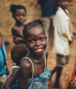 黑皮肤非洲可爱儿童高清图片
