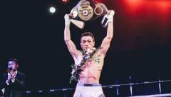 乌兰首夺WBA国际金腰带图片