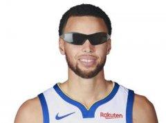 库里近视戴隐形眼镜体育图