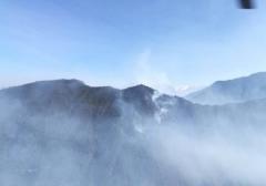 四川凉山木里火场复燃照片