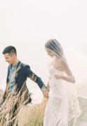 婚纱人物摄影创意摆拍图片