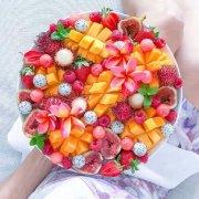 好看创意的水果拼盘