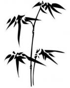 竹子的简笔画