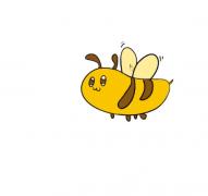 小蜜蜂简笔画