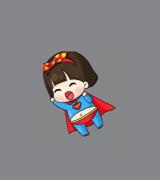 女超人简笔画